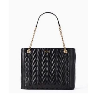 NWT Kate Spade Briar Lane quilted black bag